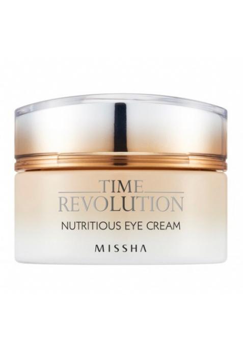 Питательный крем для кожи вокруг глаз Missha Time Revolution Nutritious Eye Cream (25 мл)