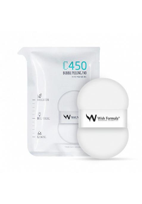 Пилинг-пэд для проблемной кожи тела Wish Formula C450 Bubble Peeling Pad (30 мл)